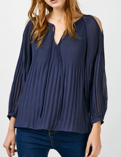 Cristal Pleated Blouse