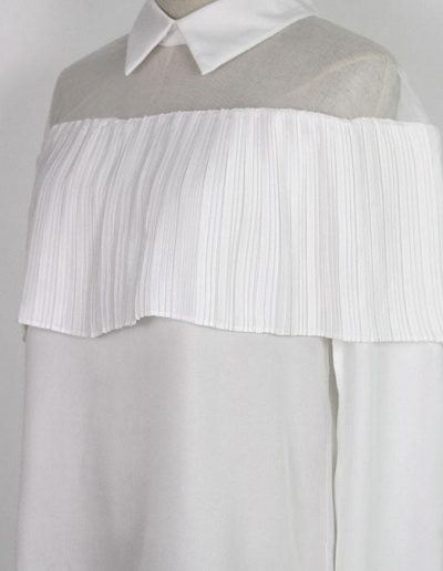 Box Pleated Blouse
