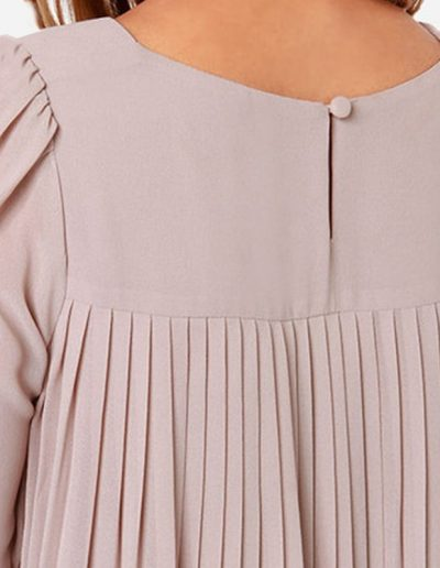 Knife Pleated Blouse