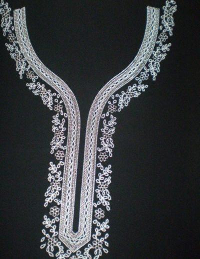 Broderie Chain stitch 1